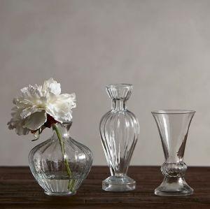 Vase en verre borosilicaté petit et exquis bourgeon