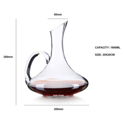 Hand Made Crystal Glass Wine Decanters