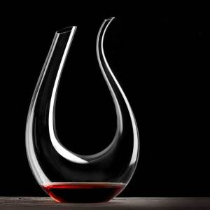Swan shape crystal wine decanter