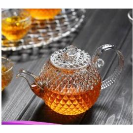 Japanese style glass tea pot