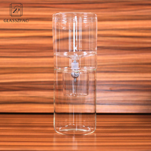 Hand Made  Heat Resistant Glass Coffee Maker