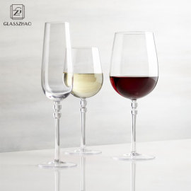 Elegant design  borosilicate wine glasses and Stemware