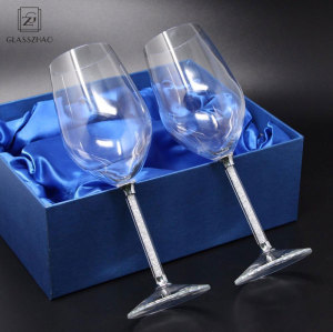 Exclusive glassware lead-free   bulb shape  Glass  wine cup