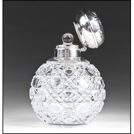 Glassware Custom exquisite unique crystal various style glass perfume bottle
