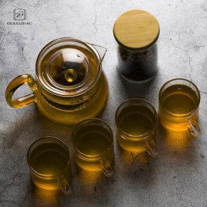 GZ Personalized Borosilicate Glass Mini Tea Pot