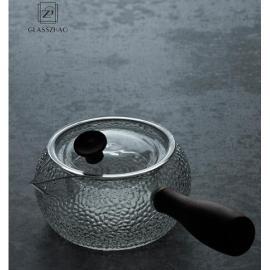 Glass Tea  Boiling Set with Clear Borosilicate Glass