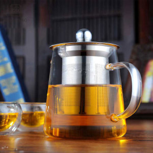 GZ Hand Made Glass Mini Teapot