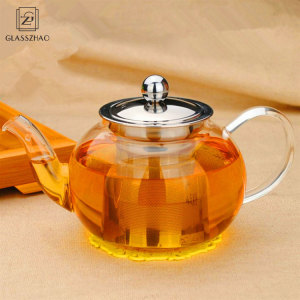 Personalized Borosilicate Glass Mini tea pot