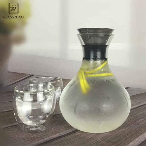 Hand Made Glass Large Capacity Jug