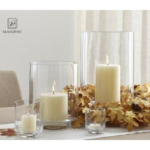 Handmade Customized Glassware Glass Candle Holder  for Decoration