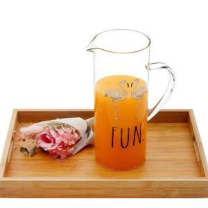 Heat Resistant Glass Pitcher
