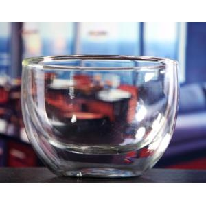 Light Weight Borosilicate Material Glass Salad Bowl