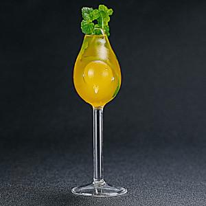Bird design  borosilicate wine glasses