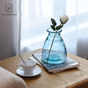 Big and exquisite Glassware   borosilicate glass vase