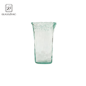 Glassware Breakage-proof hand-blown clearglass transparent flower and filler vase for home and wedding