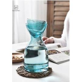 Turkish Styple Hand Made Glass Cold Brew Jug