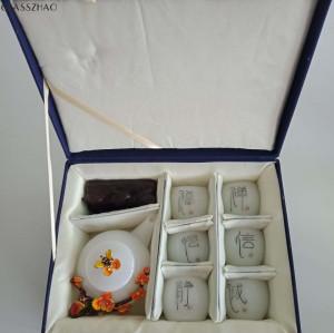 Plum Design  Glass Tea Pot