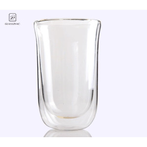 Handmade Creative Double Wall Cup Heat-Resisting Glass Beer Tea Mugs