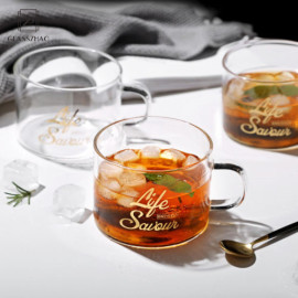 Clear Glass Cup Drinking BottleWare
