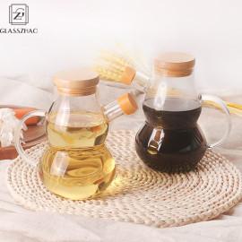 Creative Kitchen Glass Oil Bottle Multi Purpose Oil Vine