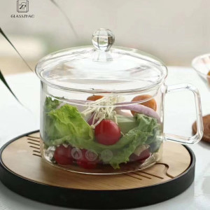Cookware Borosilicate 1.5L Glass Sauce Pan