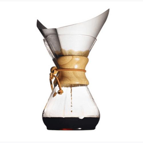 China benutzerdefinierte Glas gießen über Pyrex Glas Kaffeekanne