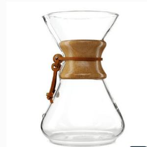 cofffee maker poignée en verre cafetière Carafe