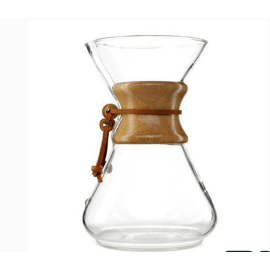 cofffee maker jarra de vidrio con mango de café jarra