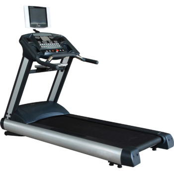 Deluxe motorized treadmill