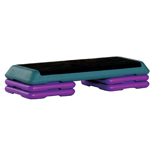 Aerobic Exercise Step Fitness Workout Bench 4 Blocks