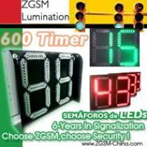 LED Traffic Signal Countdown Timer 2 Digit 24inch 600mm