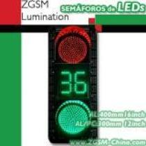 LED Traffic Light Red Green Countdown