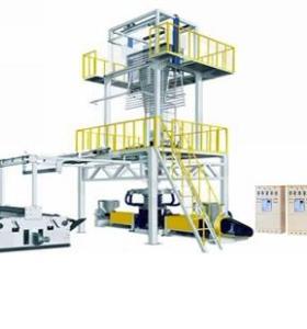 Three Layer Co-extrude Rotary Head Film Blowing Machine