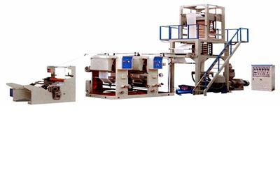 Film Blowing Machine and Gravure Printing Connect Line