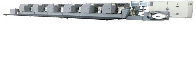 Intermittent Label Offset Printing Machine