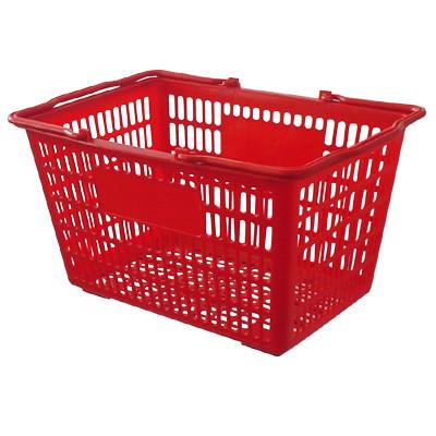 plastic shopping basket