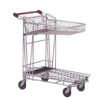 supermarket luggage trolley