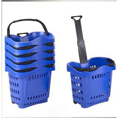 plastic shopping basket JT-TL04