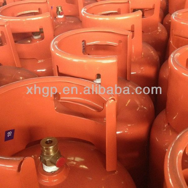 empty cooking gas cylinder