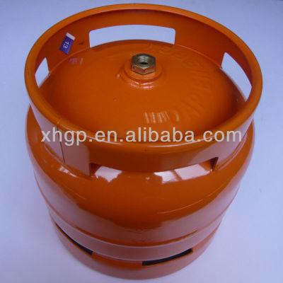 6kg steel LPG cylinder for Ghana