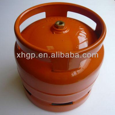 6kg liquefied petroleum gas cylinder