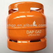 lp 6kg buque de gas para acampar o para cocinar en casa