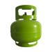 El cilindro de acero de gas líquido de campamento de Export 3kg