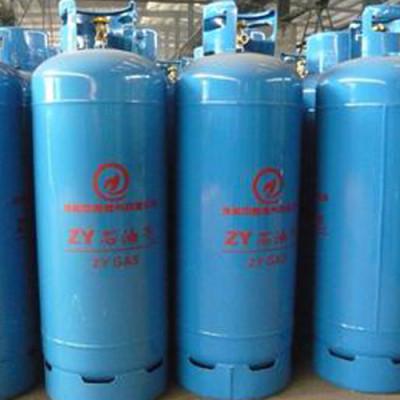 High pressure gas cylinders
