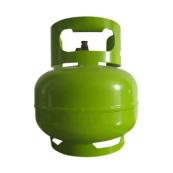 Cylindre de camping en acier de gaz liquéfié d' Export 3kg