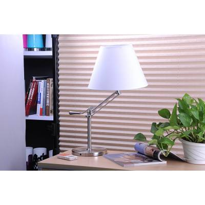 METAL AND FABRIC COVERING DECORATIVE TABLE LAMP JY-9