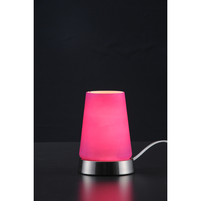 GLASS DECORATIVE TOUCH DESK LAMP JY-58M