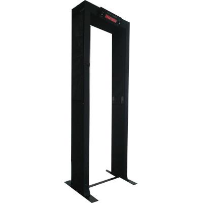 portable fold walk-through metal detector