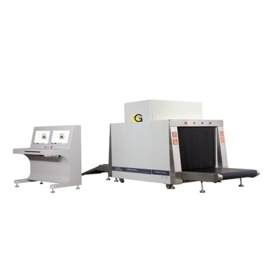 X-ray hand held baggage inspection machine
