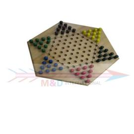 wooden draughts